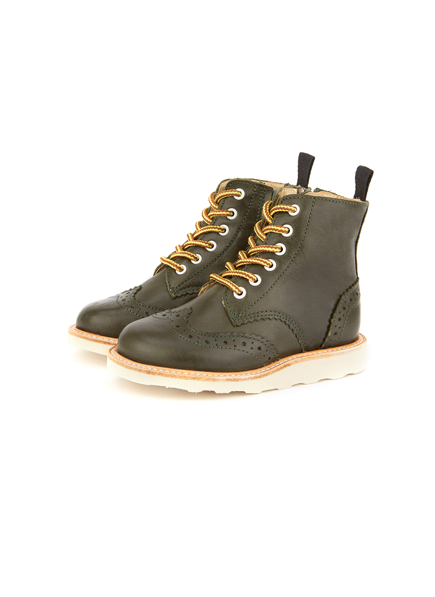 Young Soles Sidney Leather Brogue Boot