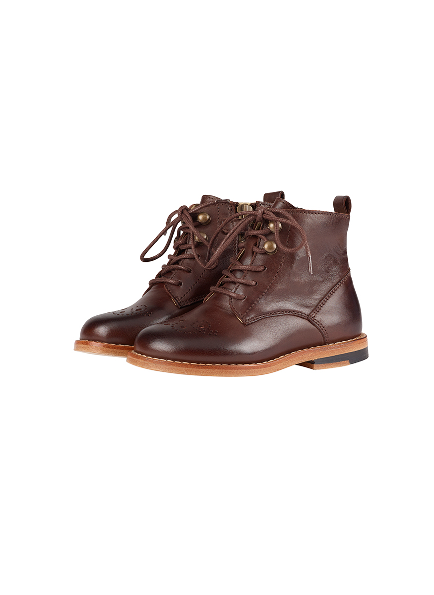 Young Soles Buster Brogue Leather Boot