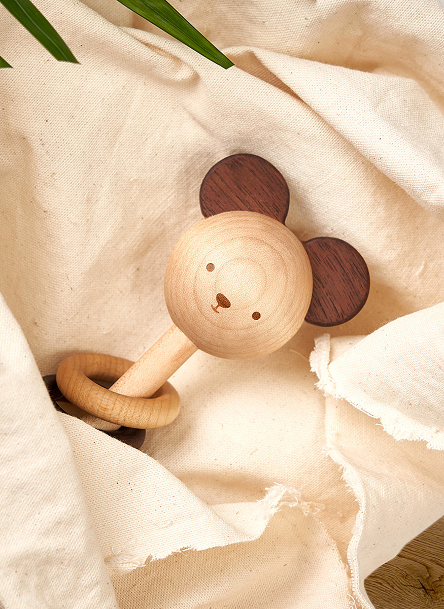 Nice to Michu Baby Rattle
