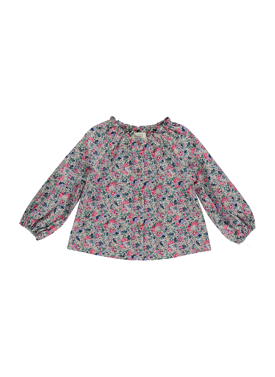Cora Blouse with Collar Detailing