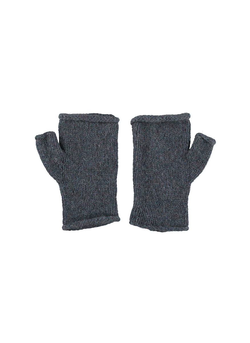 Cashmere Hand Knitted Wrist Warmers