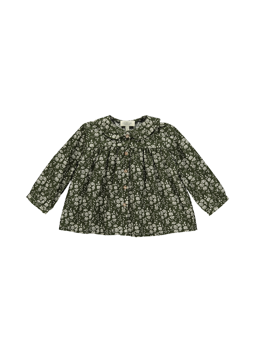 Nell Shirt with Peter Pan Collar