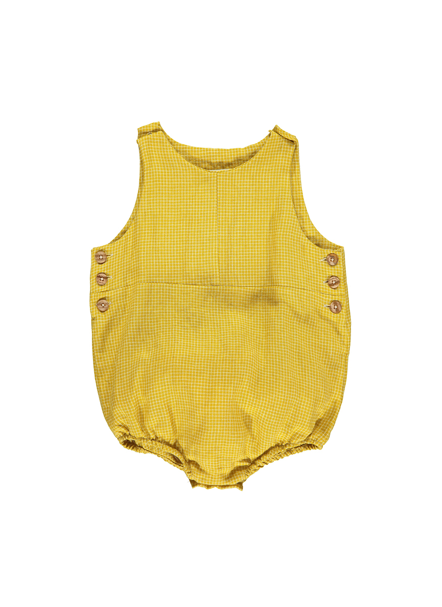 Mouse Cord Baby Romper