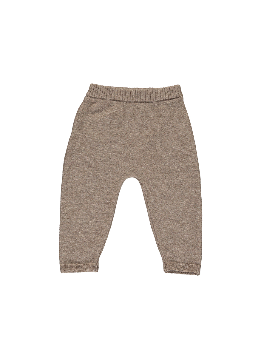 Cashmere Simple Trousers