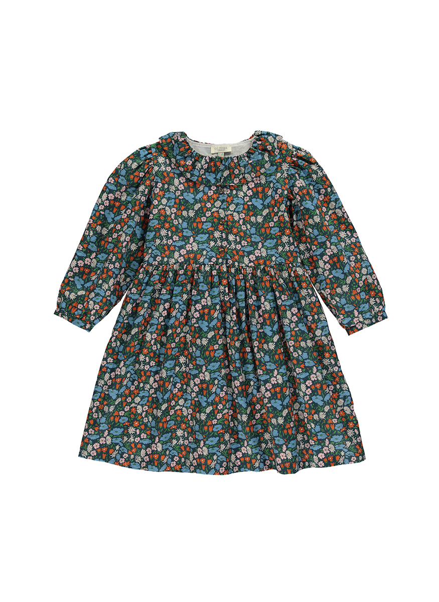 Kitty Dress with Frill Collar